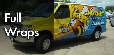 Full Color Wrap with Lamination & Installation