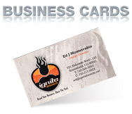 IGNITE BUSINESS CARDS
