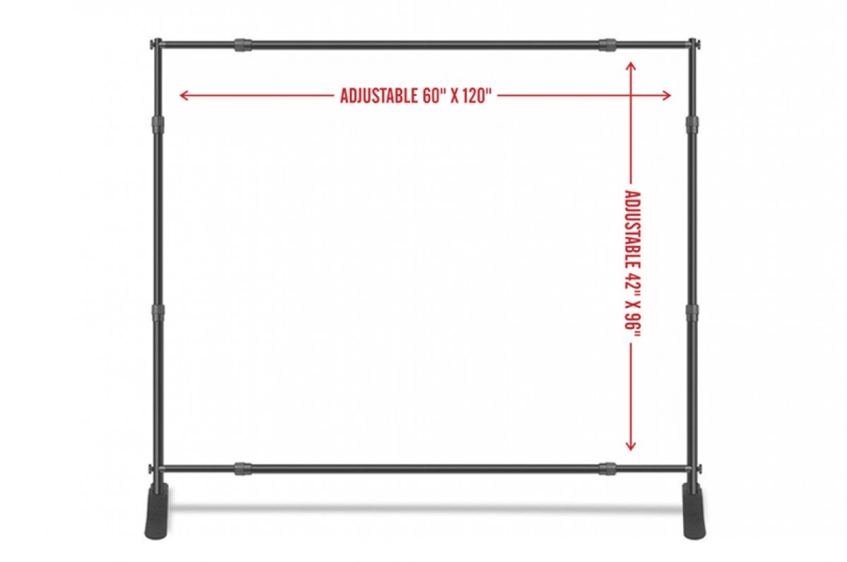 Telescopic Backdrop Banner Stand