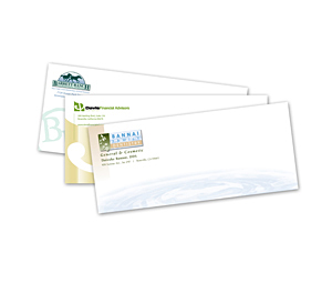 500 #10 Full Color ( Peel & Seal ) Envelopes