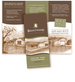 8.5x11 Brochures on 100lb Gloss Text